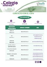 Contacto con el COF